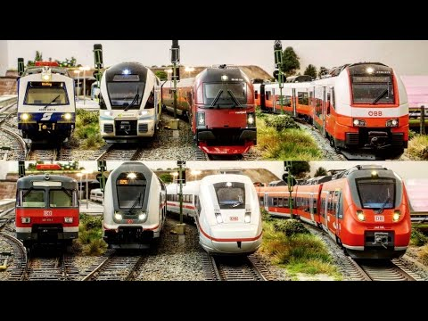 austrian-modeltrains-on-a-german-modelrailway,-including-the-worldfamous-railjet!