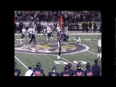 Erik Pasternack 2010 Varsity Football Highlights Franklin High School, MD