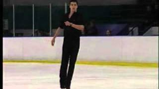 Brandon Mroz executes a quad Lutz on Sept. 17 on at the 2011 Colora...