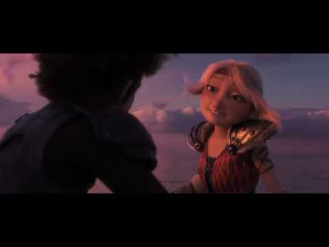 Httyd: Hiccup And Astrid Play Fight