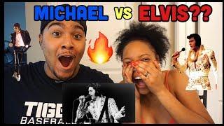 EPIC RAP BATTLE Michael Jackson VS Elvis REACTION (HISTORIC BATTLE MUST WATCH!!!)