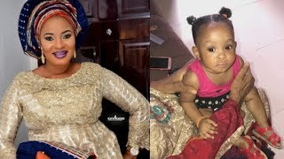 Two Daughter Left Behind By Late ActressMoji Olaiya As Moji39s Mother Play With The Little Angel