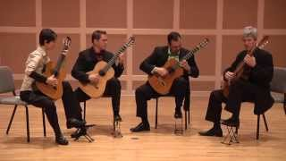 Minneapolis Guitar Quartet - Hermannin Riili by Maria Kalaniemi