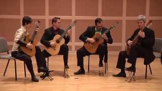 Minneapolis Guitar Quartet - Hermannin Riili by Maria Kalaniemi