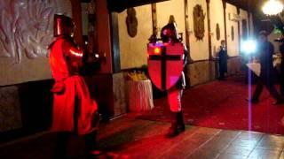 Рыцари-свадьба-британия
