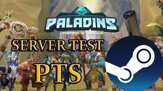 PALADINS - SERVER TEST AGORA NA STEAM! PTS STEAM #290
