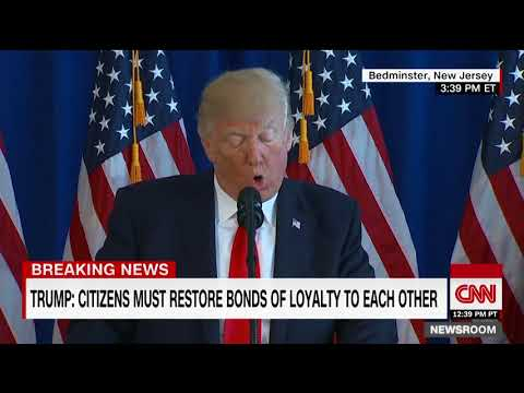 Trump addresses Charlottesville clashes (full)
