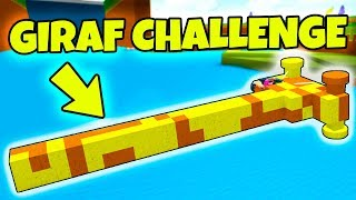 GIRAF BIL CHALLENGE?! - Dansk Roblox: Build A Boat For Treasure