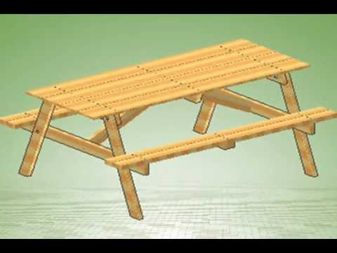 How To Build A Picnic Table With Assembly Instructions