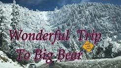Amazing Trip to Big Bear Lake California |Lots of Snow|