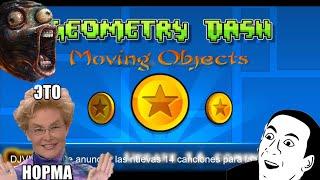 Двигающиеся Предметы-Уроки по Geometry Dash!