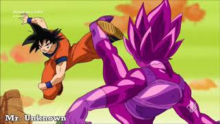Goku contro il clone di Vegeta