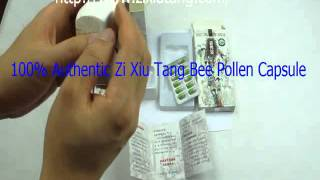 Zi Xiu Tang Bee Pollen ® Capsules Official Site™