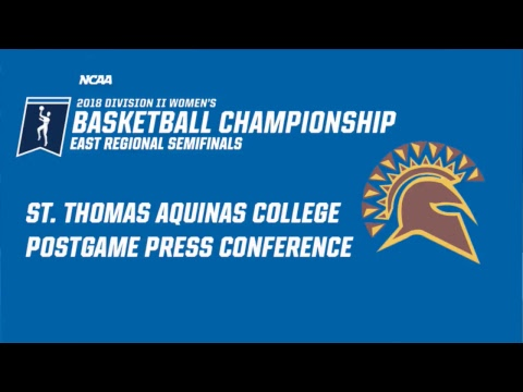 NCAA Division II WBB East Regional Semifinals Post-Game Conference: St. Thomas Aquinas College