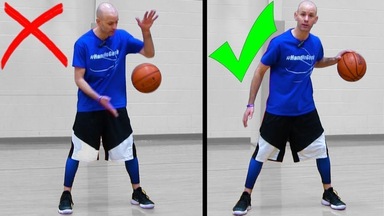 How To Dribble A Basketball For Beginners! Basketball Basics [SECRETS] -  YouTube