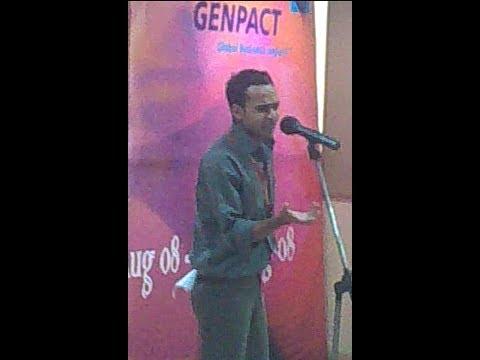 Bollywood Stars Mimicry | Avin Pandey | Genpact | 2008