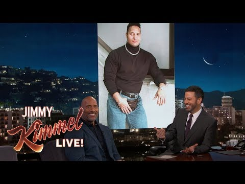 Jimmy Kimmel & Dwayne Johnson Settle Beef