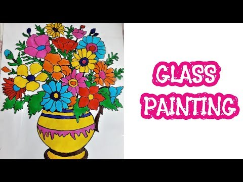 Glass Painting - Step by step