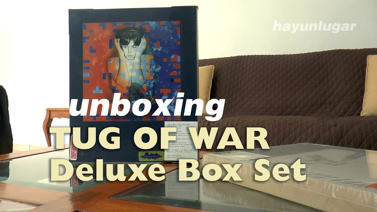Unboxing TUG OF WAR Deluxe Box Set · Paul McCartney Archive Collection