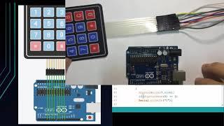 Arduino Tutorial for Beginners 15 - Using 4×4 Keypad With Arduino
