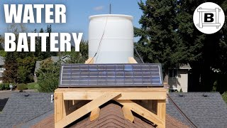 Storing Solar Power on my ROOF!!!