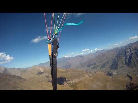 Traversing towards Mt Kazbek -- Full Video