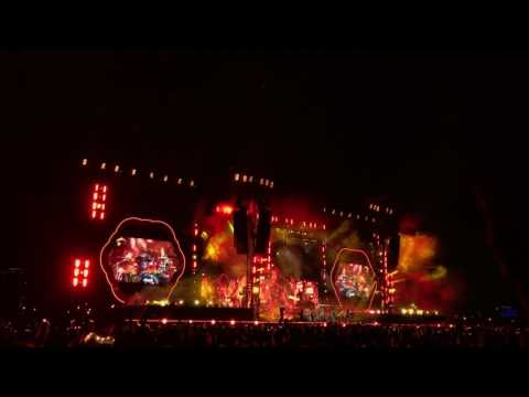 Coldplay -Fix You (Live 2017 from Taiwan)