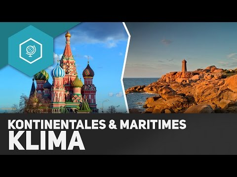 Kontinentales und Maritimes Klima - Klima und Wetter Grundlagen 5 ● Gehe auf SIMPLECLUB.DE/GO