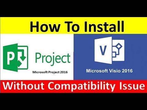 cannot install visio 2016 64 bit