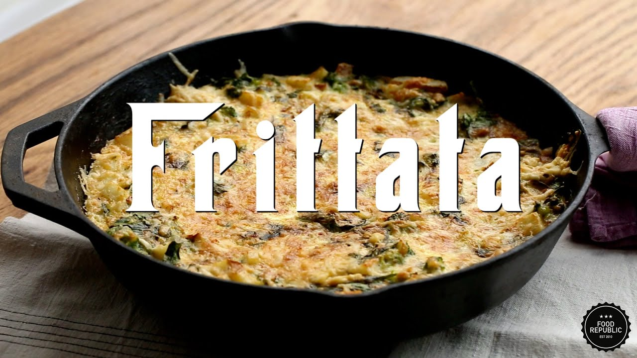 The easiest potato and broccoli frittata recipe youtube the easiest potato and broccoli frittata recipe food republic forumfinder