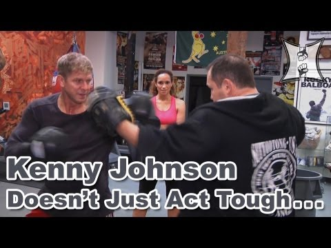 "Kenny Johnson of ""Dexter,"" ""Sons Of Anarchy"" + ""The Shield"" Talks Love of MMA + Boxing"