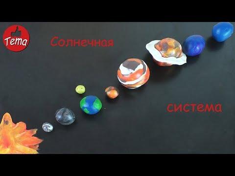 Как сделать планету земля из пластилина