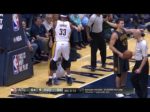 Quarter 4 One Box Video :Pacers Vs. Hawks, 4/12/2017 12:00:00 AM