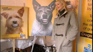 Gossip Girls Kelly Rutherford Launches Denture Your Dog Contest from New York