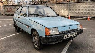 Капсула времени: нашли новый ЗАЗ-1102 Таврия времен СССР ZAZ
