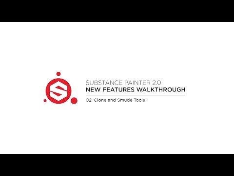 Substance Painter 2.0: Clone and Smudge Tools