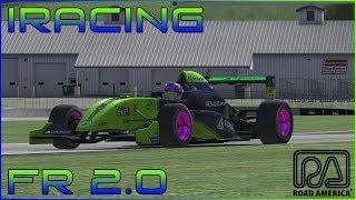 iRacing // Formula Renault 2.0 Hotlap // Road America (2:03.184)