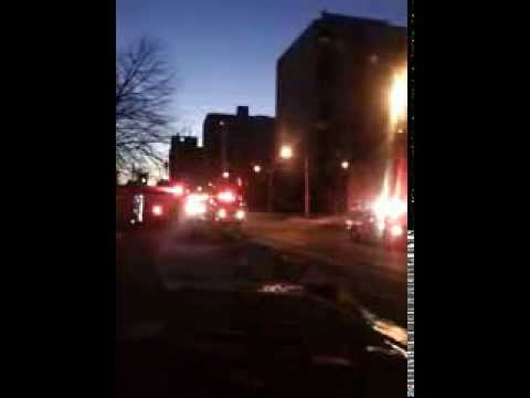 London, ON Fire response to alarm activation