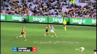 Last two minutes of Richmond and Port draw - AFL