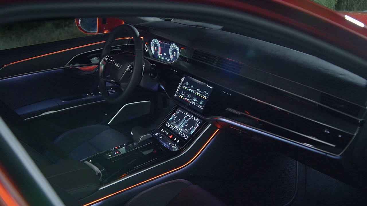 2018 Audi A8 - Interior - YouTube