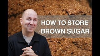 How to store Brown Sugar Properly   Talking Food vlog episode 8