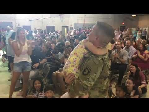 Surprise Homecoming at Collierville Elementary School