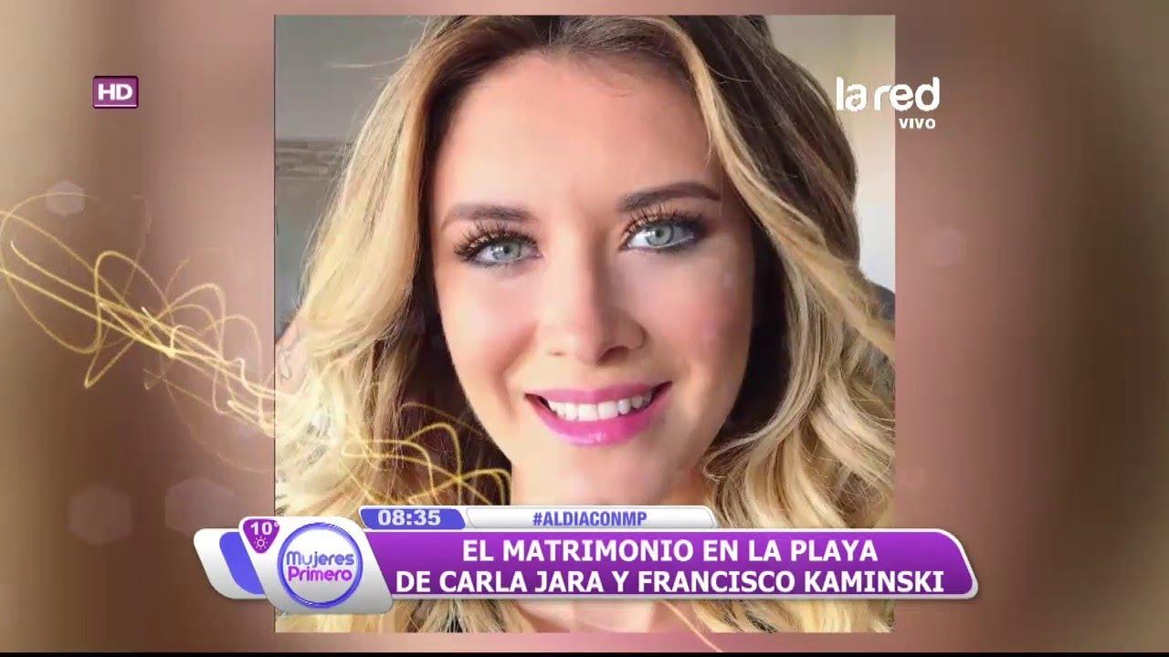 Matrimonio Simbolico Chile : Así fue el matrimonio simbólico y playero de carla jara y francisco