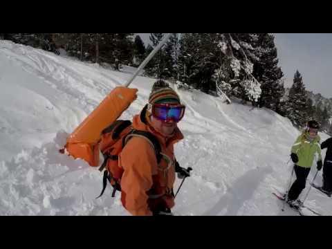 Skiing Soldeu powder - January in Andorra