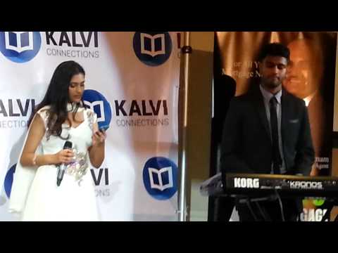 Geethiya Varman At Kalvi Gala Fundraiser, June 7, 2014.(Cover)