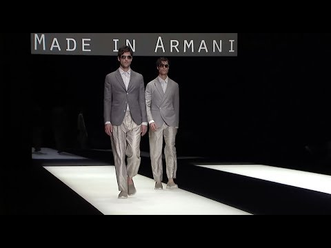 Giorgio Armani Spring Summer 2018 Men's Fashion Show