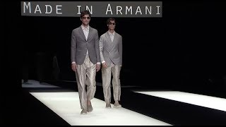 Giorgio Armani Spring Summer 2018 Men's Fashion Show