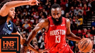 Houston Rockets vs Memphis Grizzlies Full Game Highlights | 12/31/2018 NBA Season