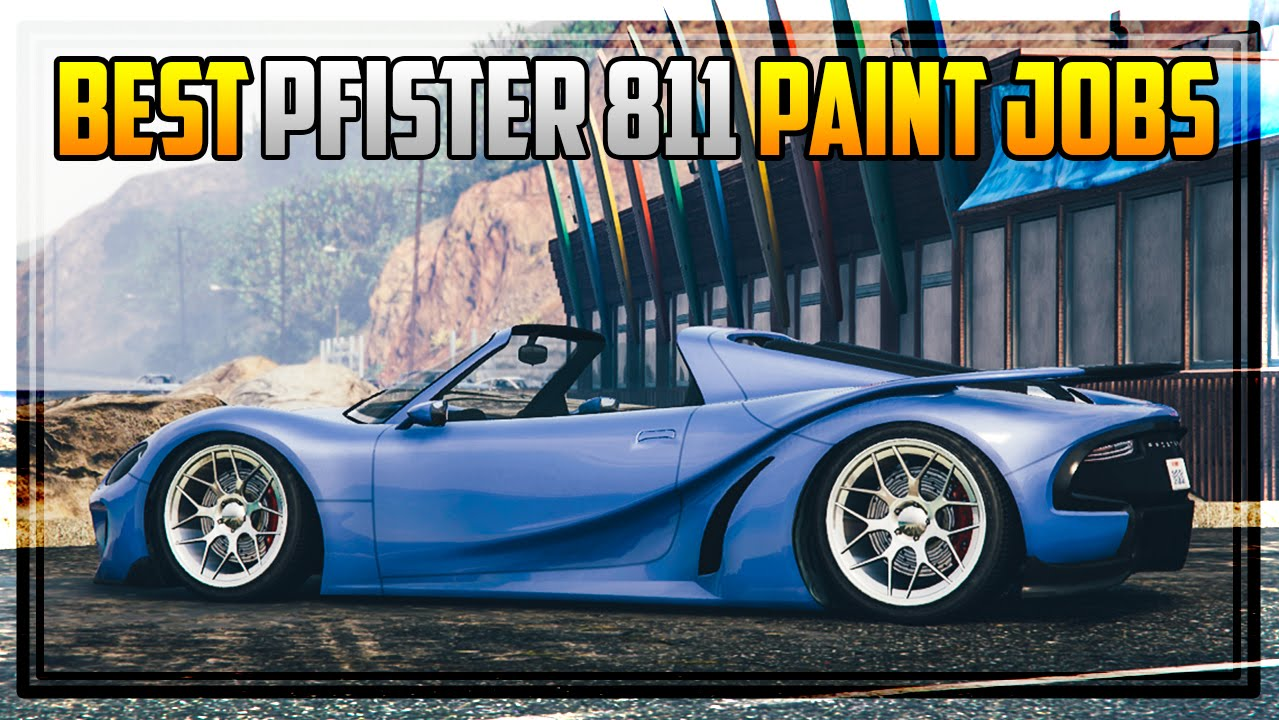 10 awesome pfister 811 paint jobs gta 5 online youtube