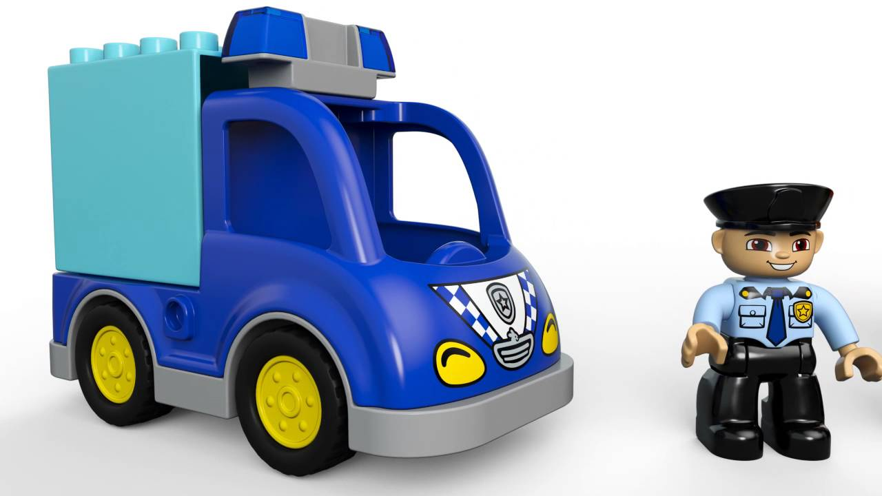 Town Police Patrol Lego Duplo 10809 Product Animation Youtube